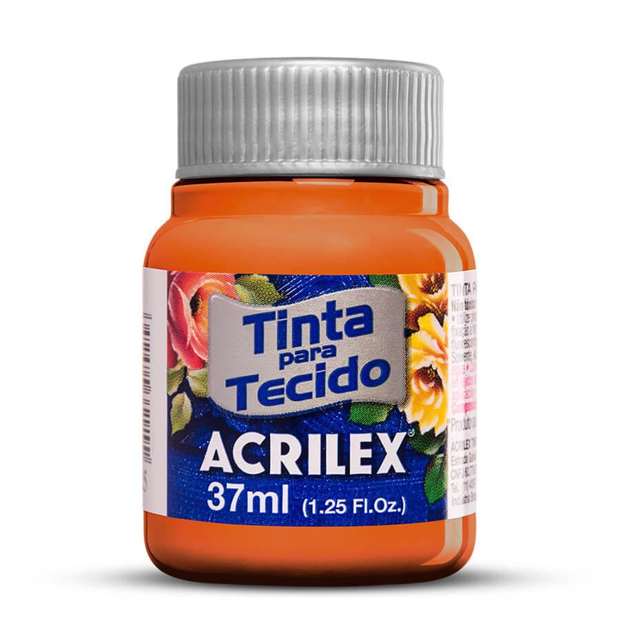 TINTA DE TECIDO ACRILEX 37 ML TIJOLO