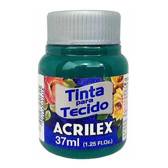 TINTA DE TECIDO ACRILEX 37 ML VERDE BANDEIRA