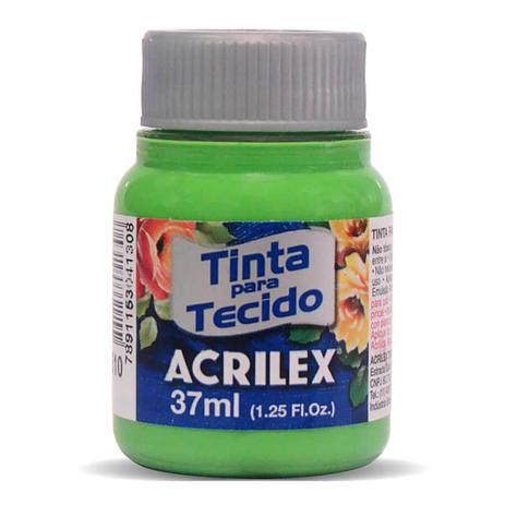 TINTA DE TECIDO ACRILEX 37 ML VERDE FOLHA