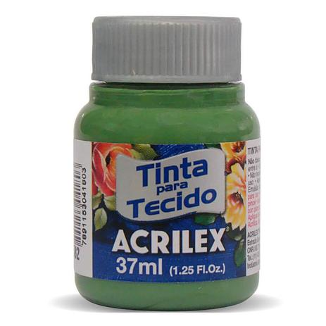 TINTA DE TECIDO ACRILEX 37 ML VERDE GRAMA