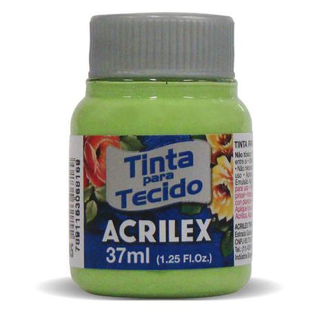TINTA DE TECIDO ACRILEX 37 ML VERDE KIWI