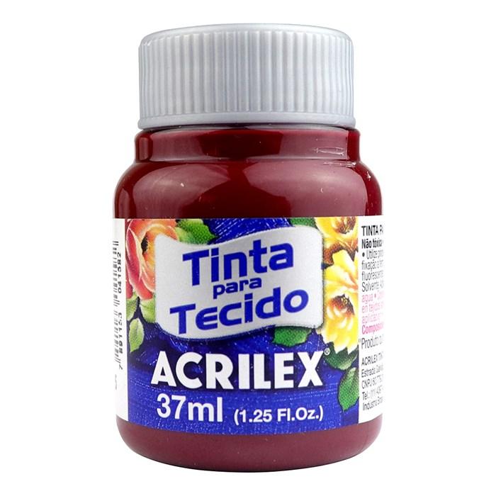 TINTA DE TECIDO ACRILEX 37 ML VINHO