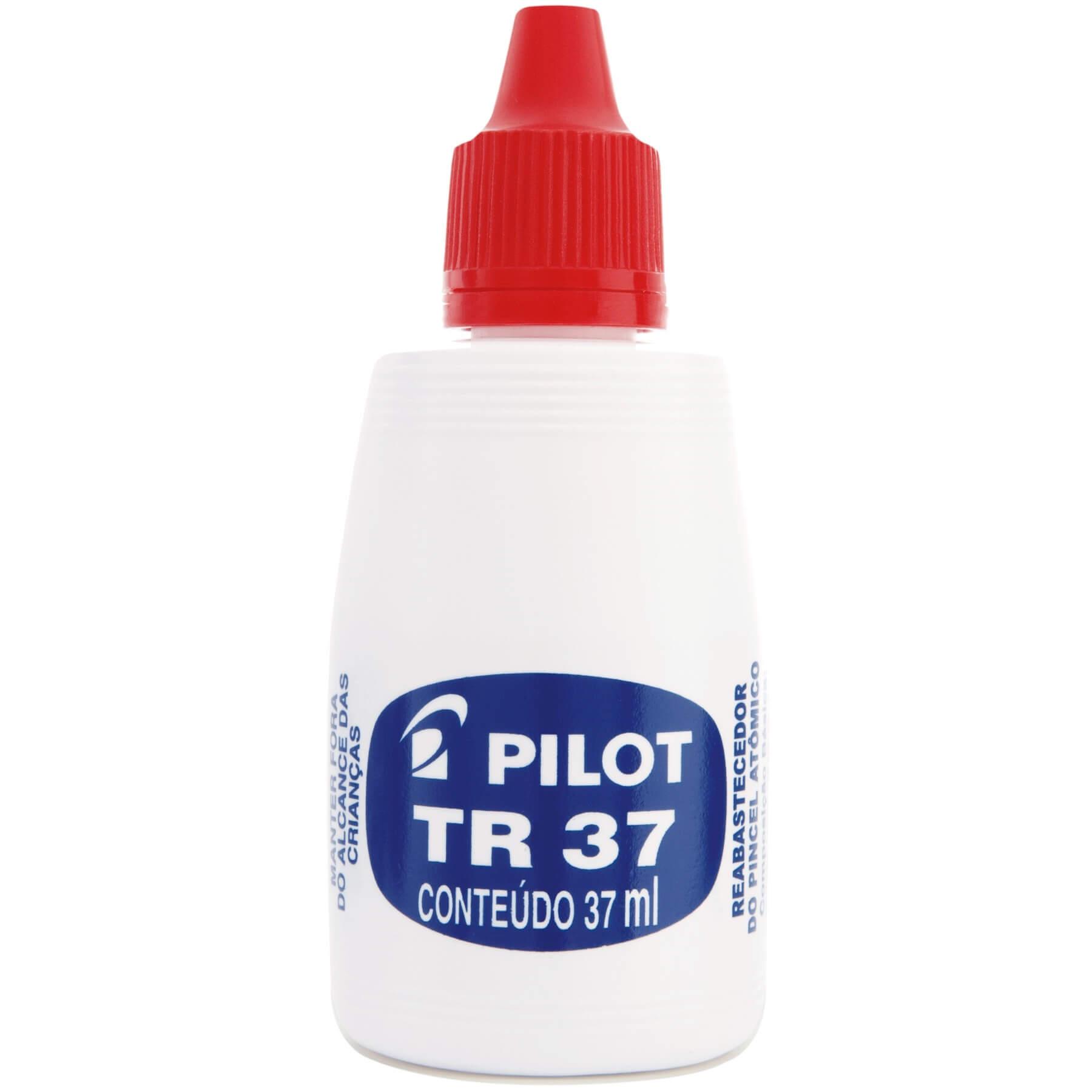 TINTA REABASTECEDOR PINCEL ATOMICO TC 37 VERMELHO 37 ML - PILOT