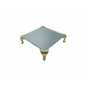 Bandeja Espelhada Itália Dourada Luxo,Lavabo,Decoração 10x10