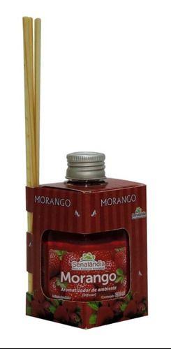 Aromatizante Difusor Fragrância Morango 280 Ml Senalândia