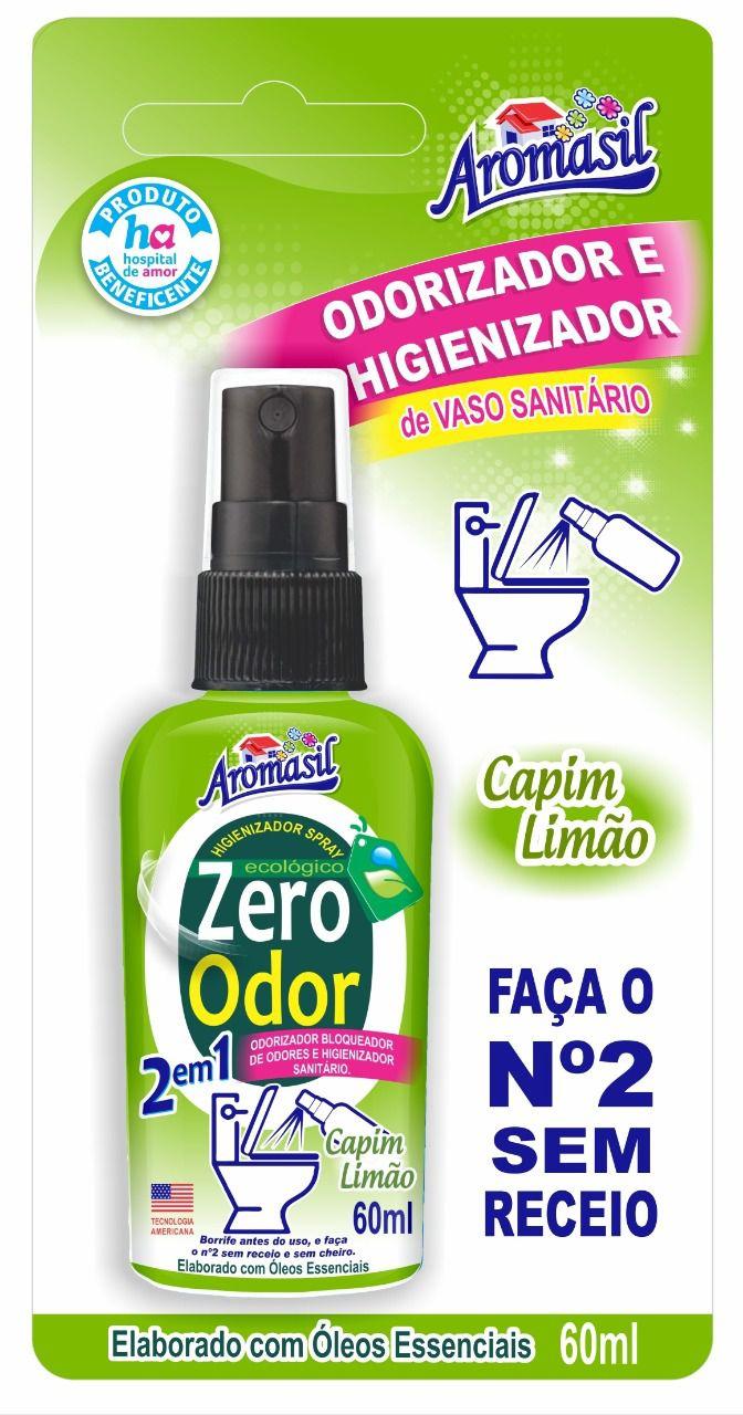 Odorizador e Higienizador de Vaso Sanitário  Capim Limão
