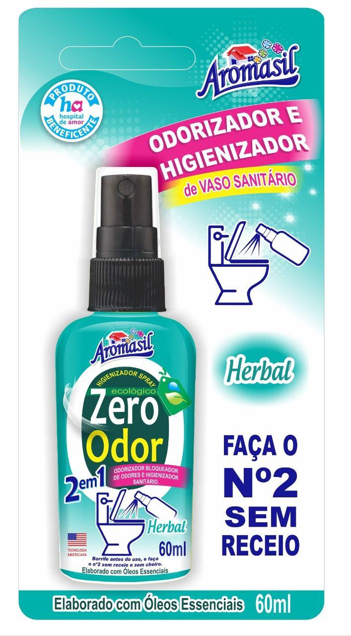 Odorizador e Higienizador de Vaso Sanitário Herbal