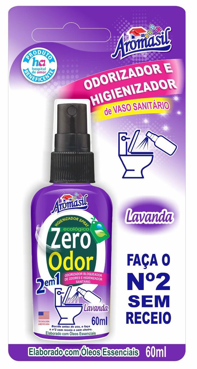 Odorizador e Higienizador de Vaso Sanitário Lavanda