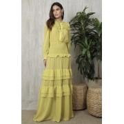 Vestido Amarelo Cora
