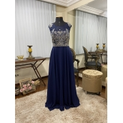 Vestido Azul Marinho 519