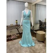 Vestido Azul Tiffany 173