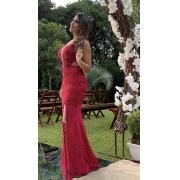 Vestido Marsala Nissa