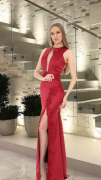 Vestido Marsala Fernanda