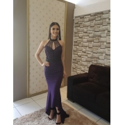 Vestido Roxo Cila