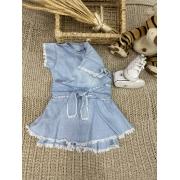Vestido short saia Analu
