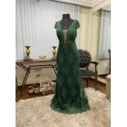 Vestido Verde Esmeralda 175