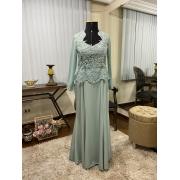 Vestido verde menta 120