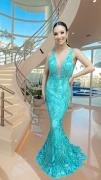 Vestido Verde Tiffany Joana
