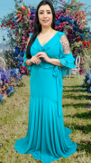 Vestido Verde Tiffany Ravenna