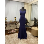Vestido Azul Marinho 163