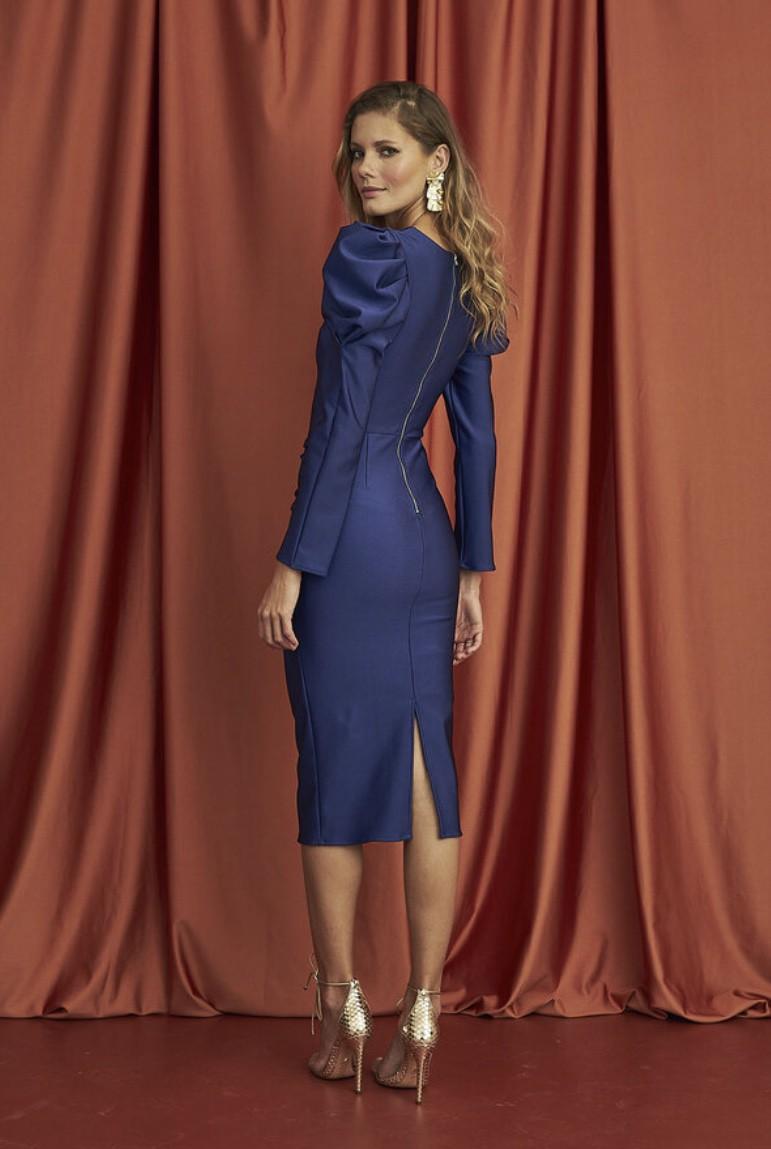Vestido Azul Agnes