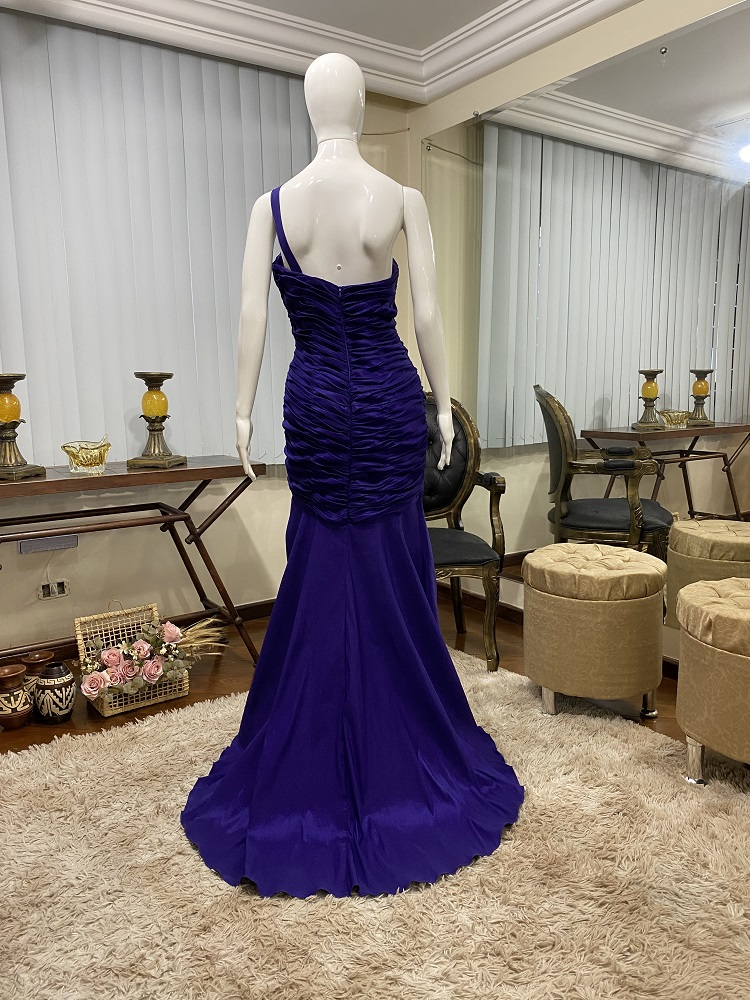 Vestido Azul Anil 525