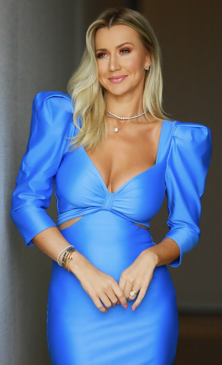 Vestido azul Betina