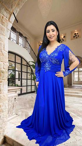 Vestido azul Bic Lamezia