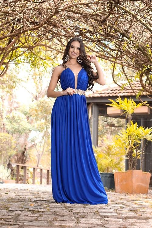 Vestido Azul Bic Renata