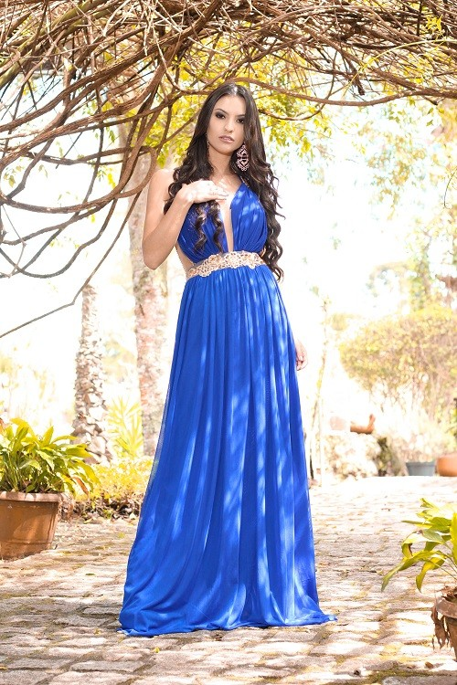 Vestido Azul Bic 186
