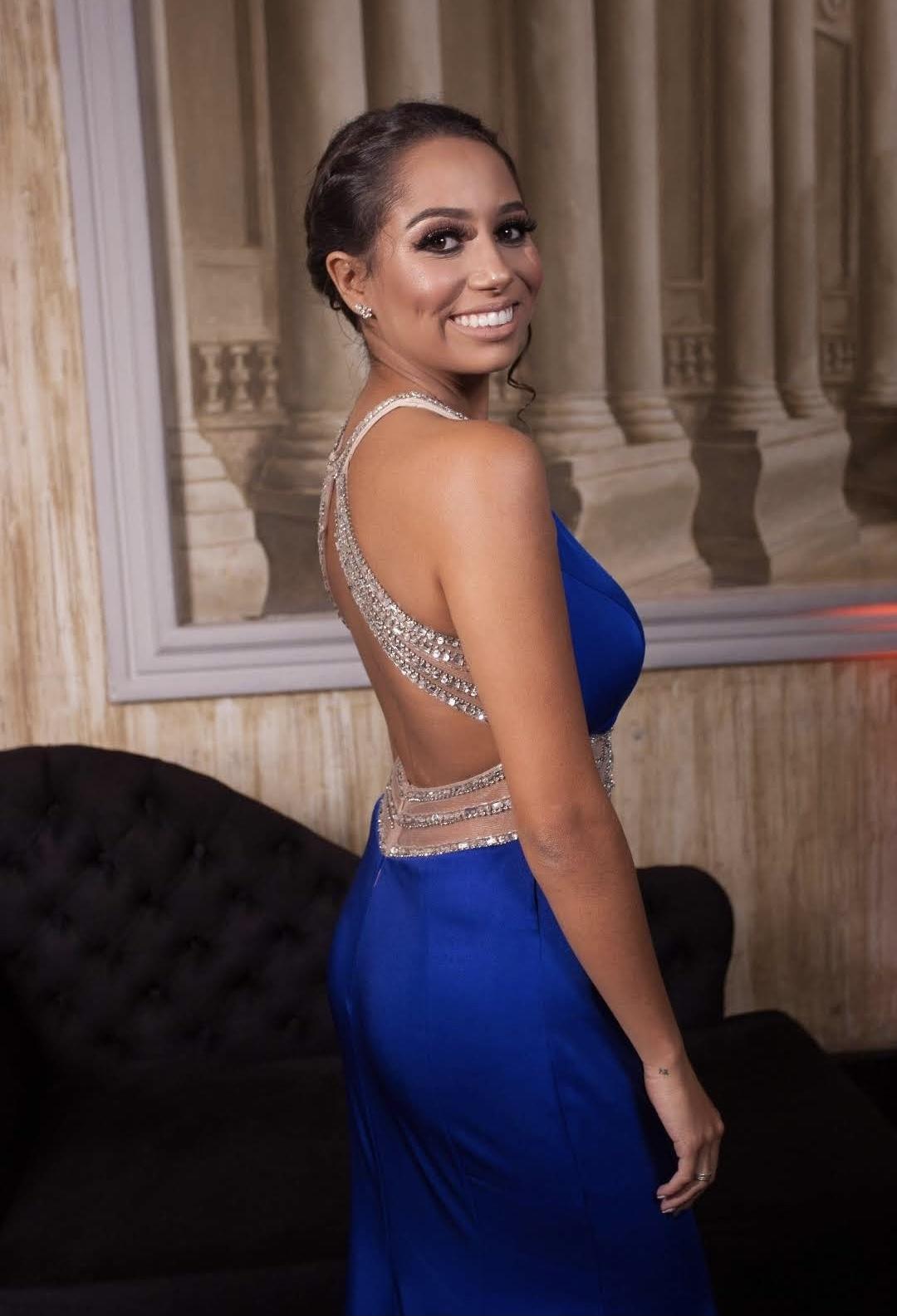 Vestido Azul Carolina