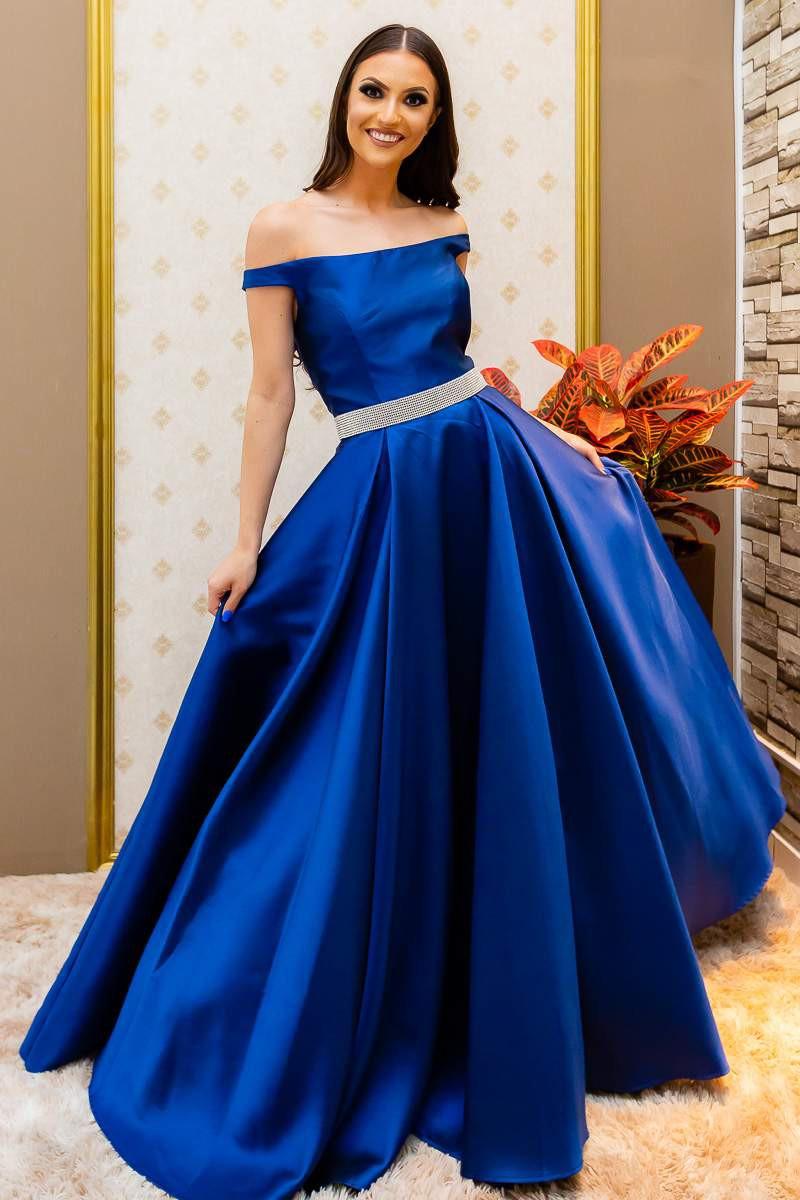 Vestido Azul Lola
