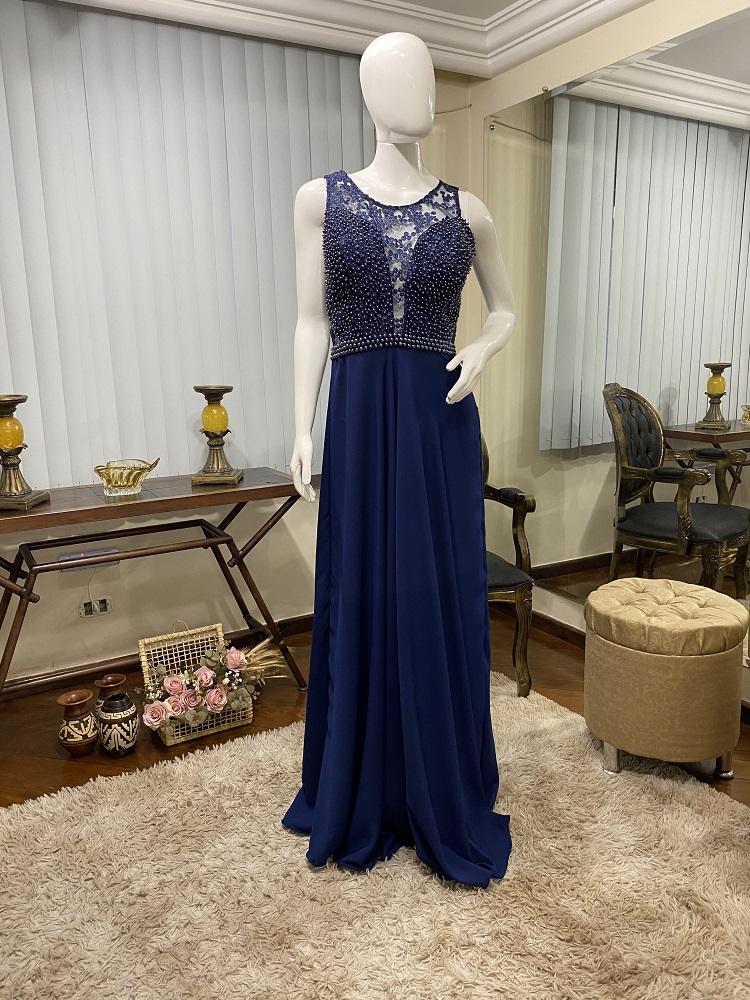 Vestido azul Marinho 168