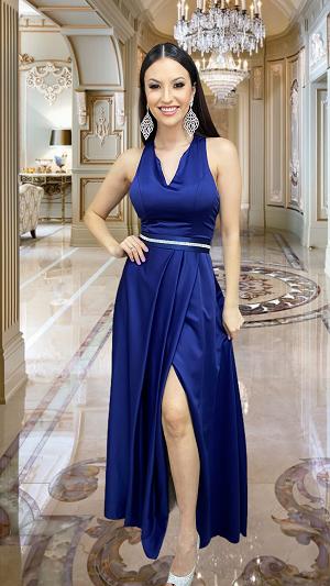 Vestido Azul Marinho Caserta