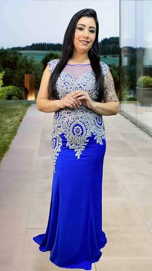 Vestido Azul Royal Palermo