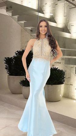 Vestido Azul Serenity Melissa
