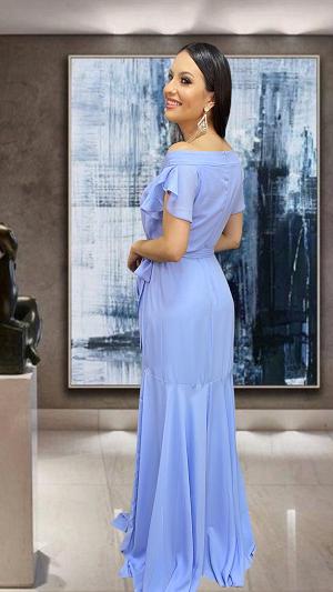 Vestido Azul serenity Toulon