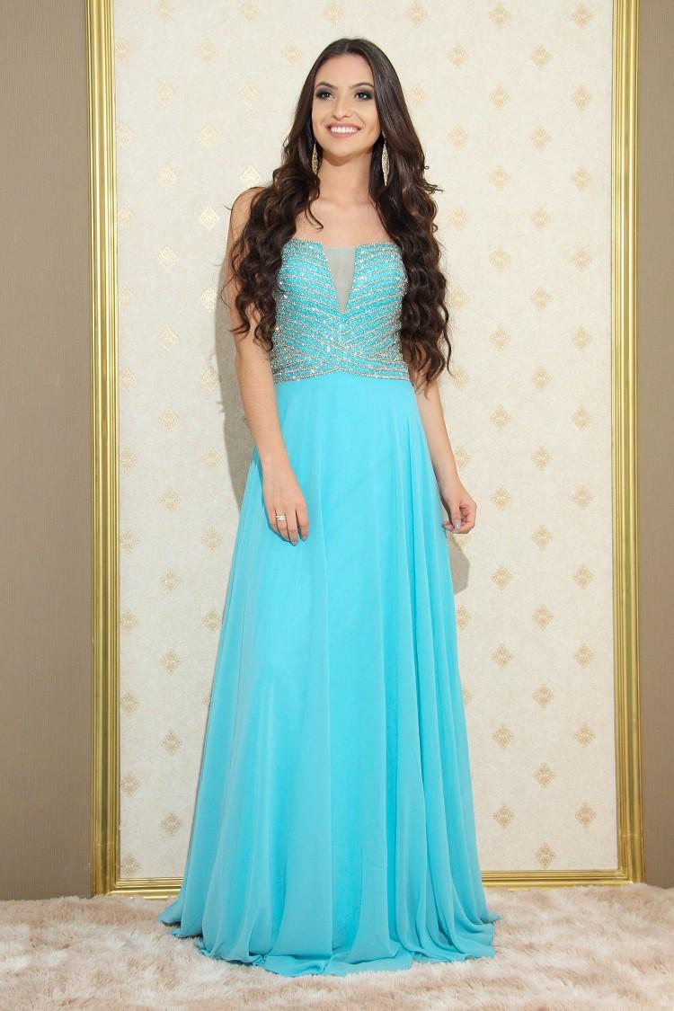 Vestido Azul Sandra