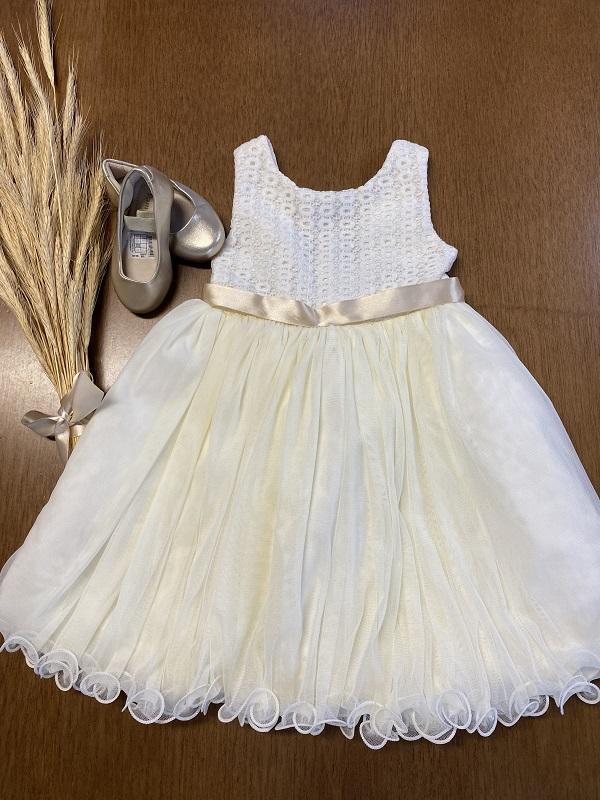Vestido Beige Bibi