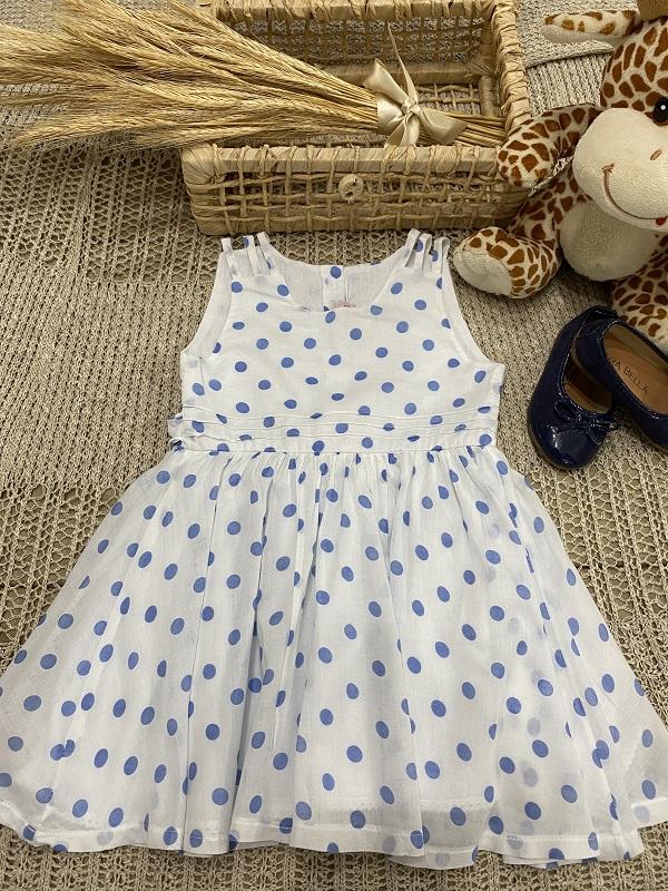 Vestido Bolinha Tina