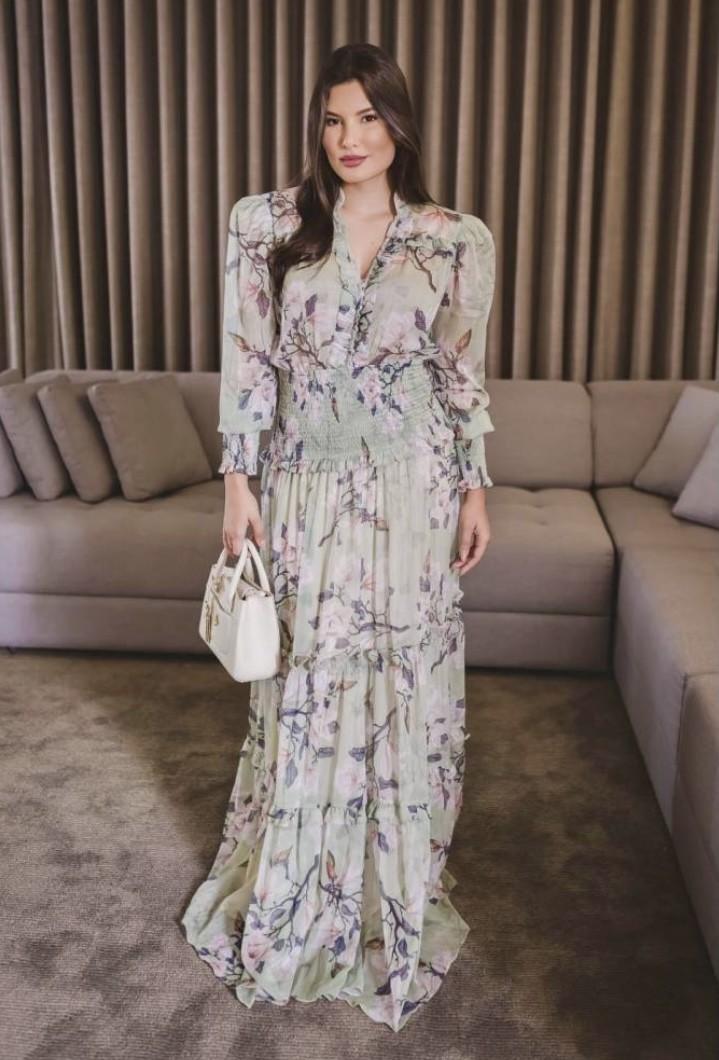 Vestido Floral Amélia