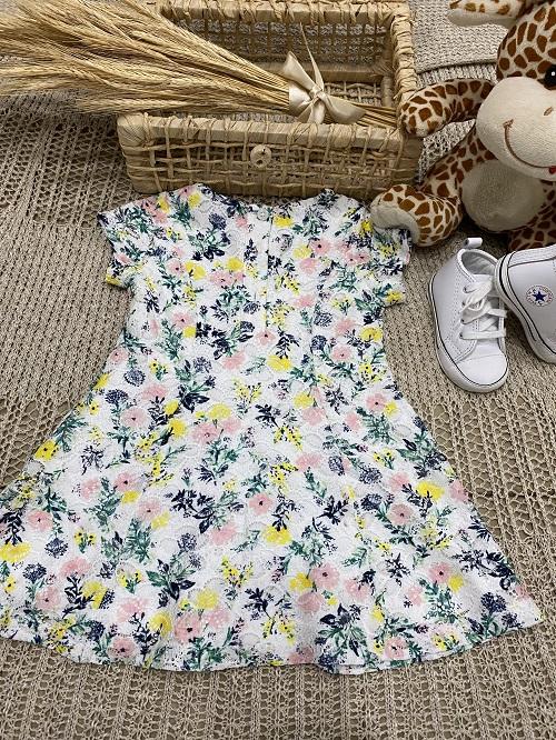 Vestido Floral Renda Liz