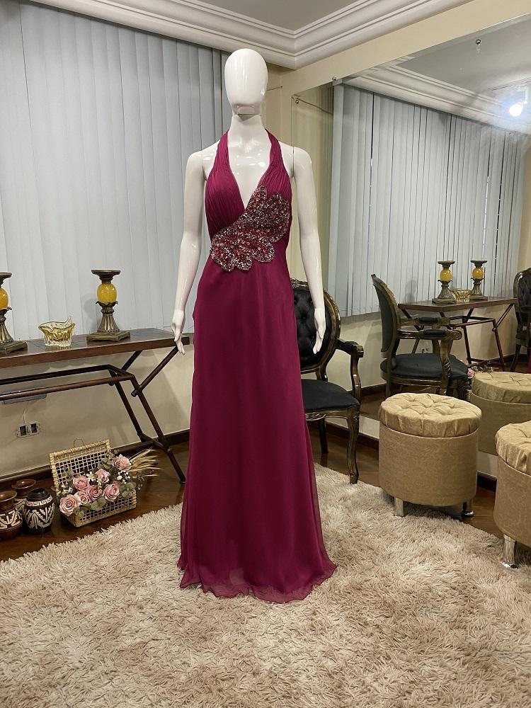 Vestido fucsia 515