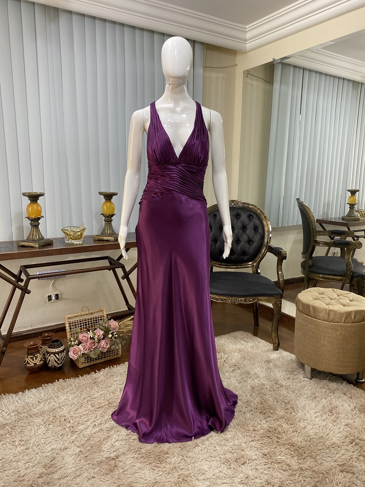 Vestido fucsia 526