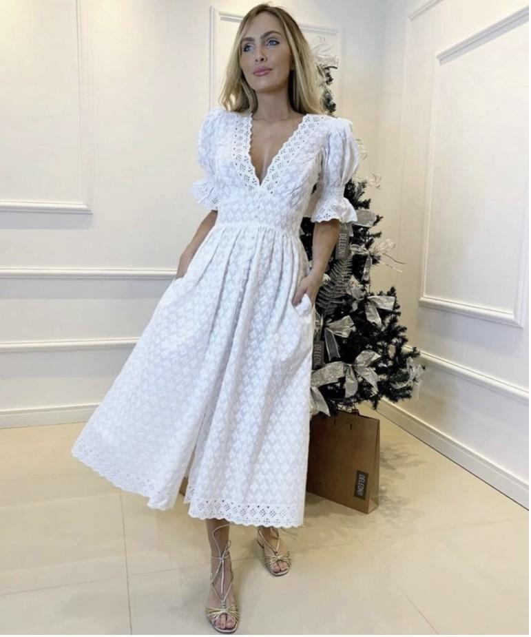 Vestido branco Felipa