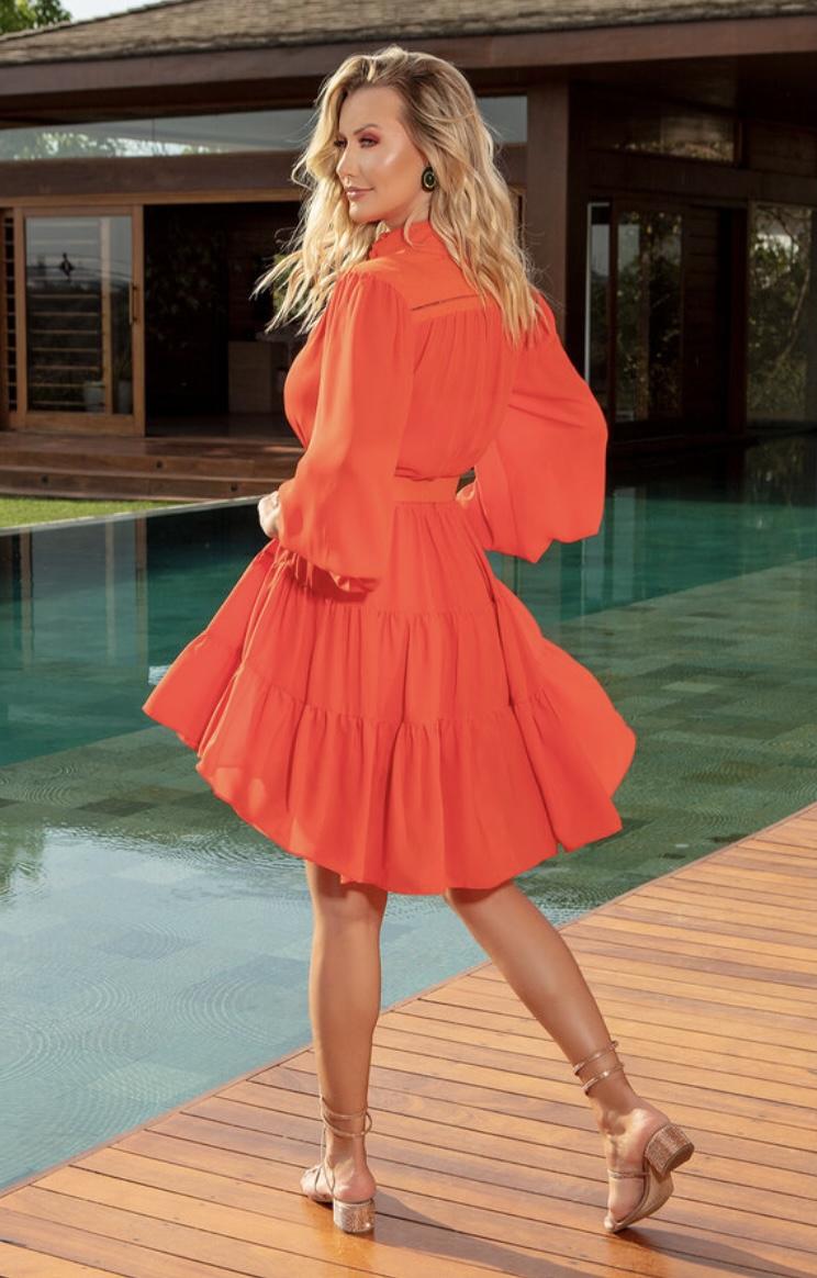 Vestido Laranja Tarsila