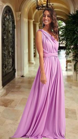 Vestido Lavanda Novara