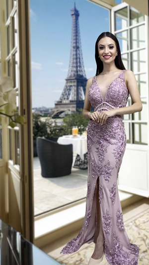 Vestido Lavanda Sara