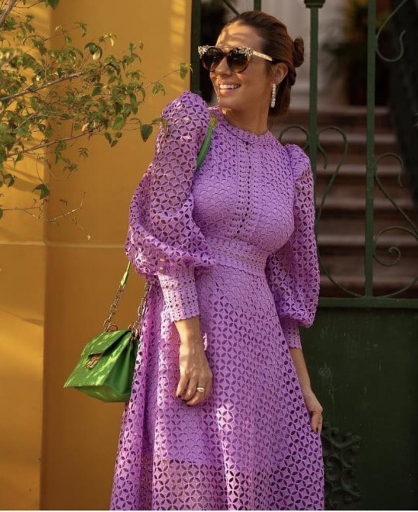 Vestido Lilás Gisele
