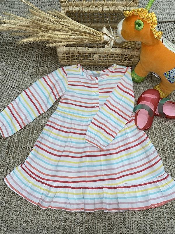 Vestido Listras Vaninha